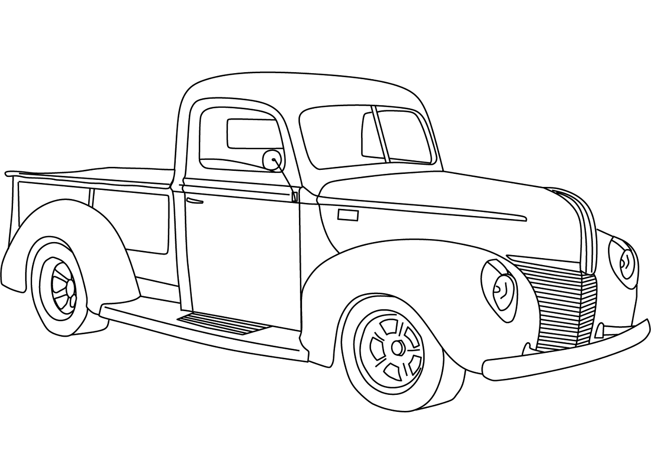 ô tô 1940 ford pickup