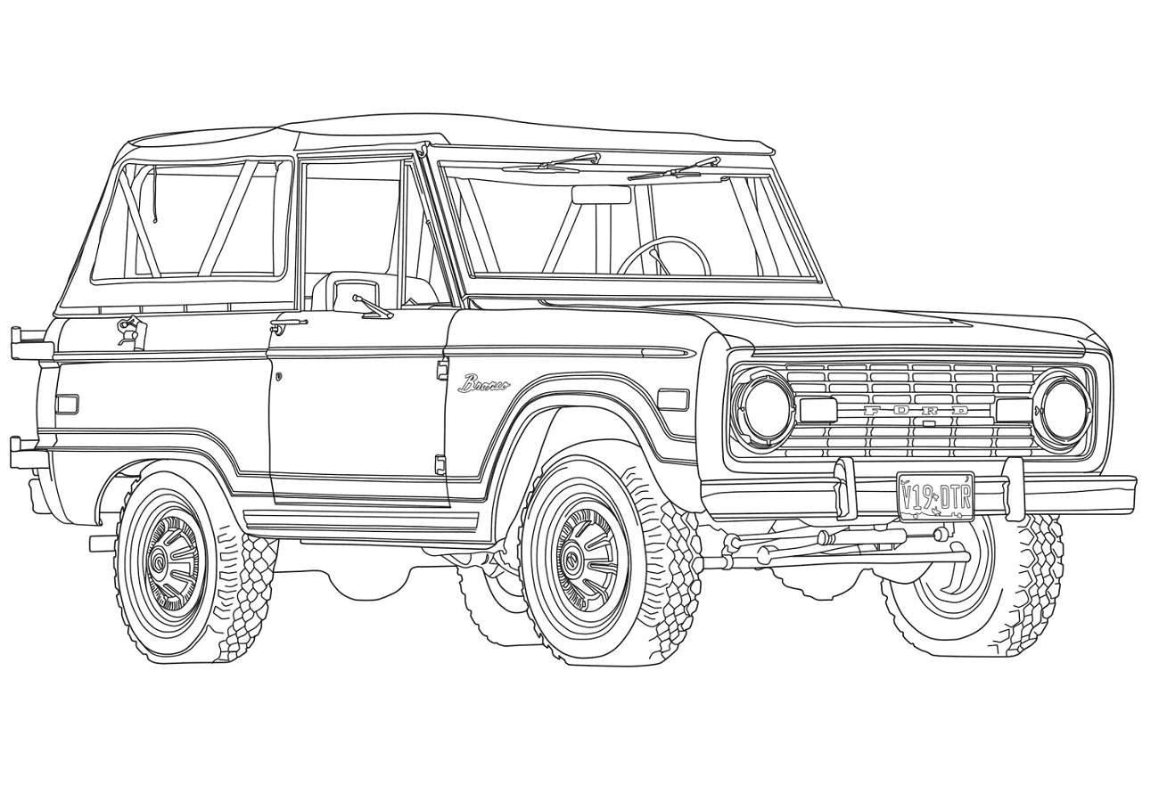 ô tô 1969 ford bronco