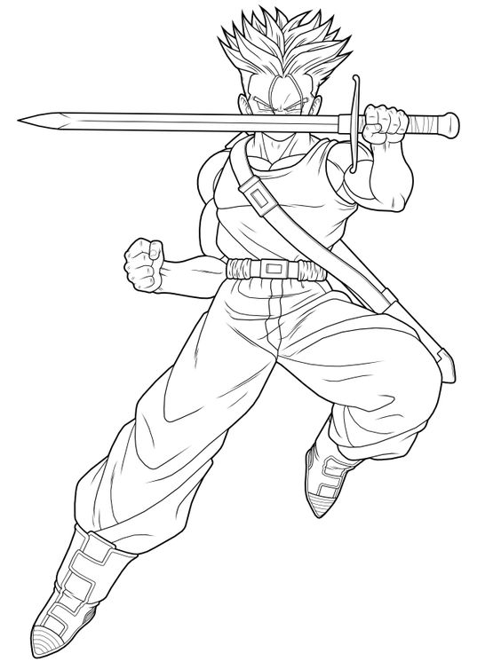 siêu saiyan trunks