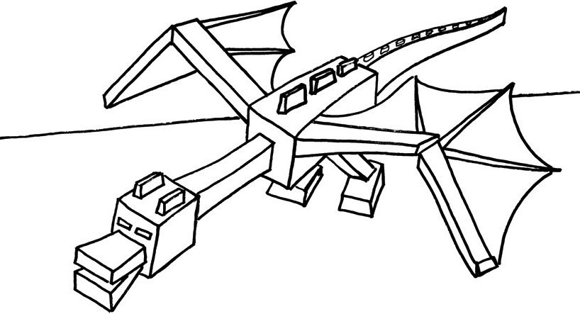 ender dragon trong minecraft