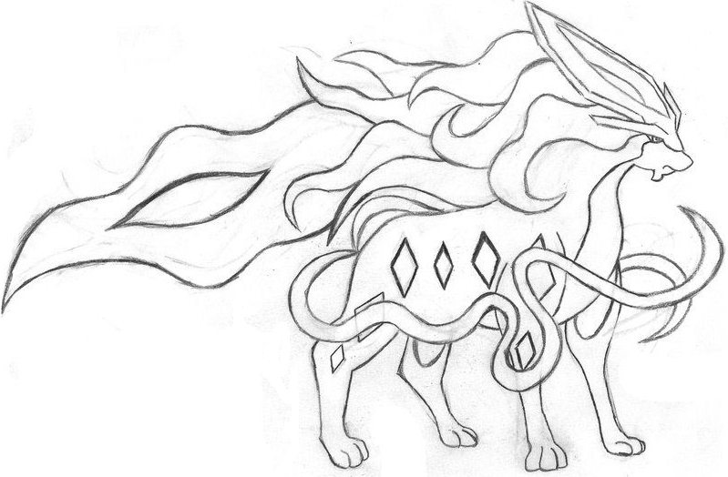 suicune trong pokemon