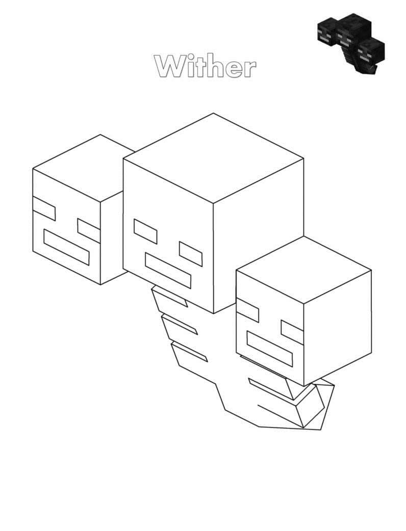 Wither Trong Minecraft