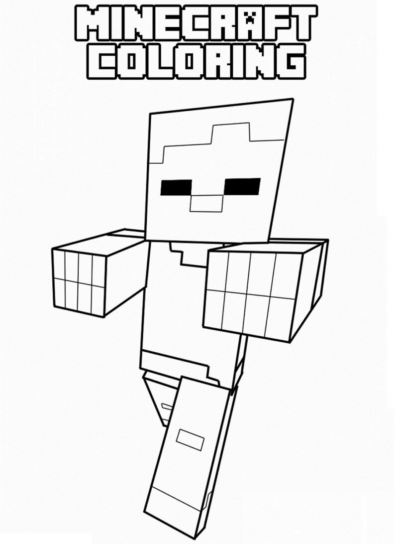 Zombie Trong Minecraft